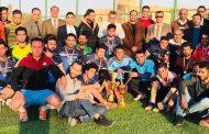 بطولة لخماسي الكرة لطلبة  الكلية (المسائية )