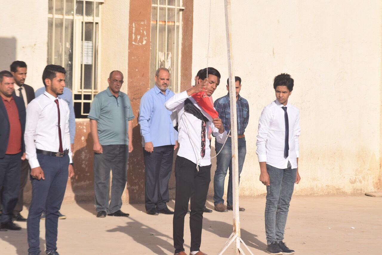 مبادرة رائعة للطالب نعيم حامد عبد الخضر