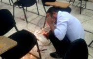 حملة لتصليح الكراسي في القاعات الدراسية