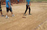 مبادرة جميلة لإعادة تأهيل ملعب كرة الطائرة الشاطئية