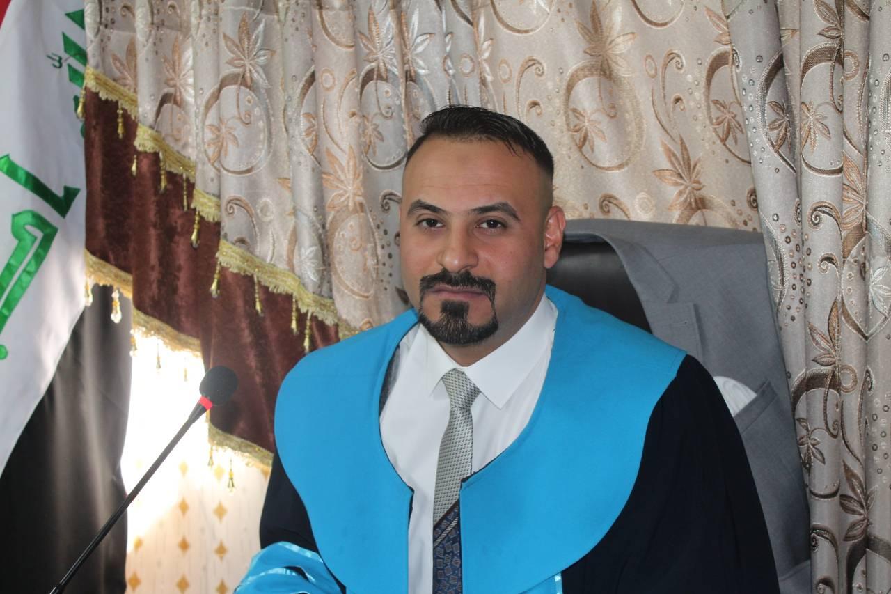 مناقشة  اطروحة الدكتوراه للطالب محمود عباس عبد الحسن