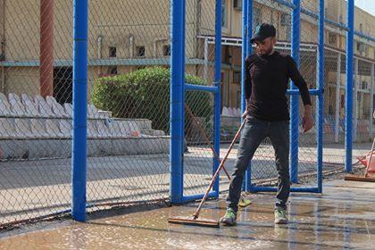 حملات التنظيف في كليتنا