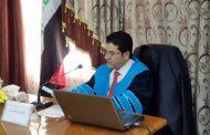 مناقشة رسالة الماجستير للطالب احمد كامل مبدر