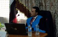 مناقشة اطروحة الدكتورة للطالب رياض عبد الحمزة