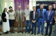 اساتذتنا يشاركون في دورة تدريبية ببغداد