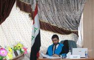 مناقشة اطروحة الدكتوراه للطالب حارث عبدالاله عبد الواحد