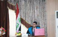 مناقشة رساله الماجستيرللطالب علي سلام كاظم