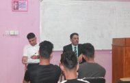 ندوة بعنوان  دورالطالب الجامعي في التصدي لظاهرة الادمان