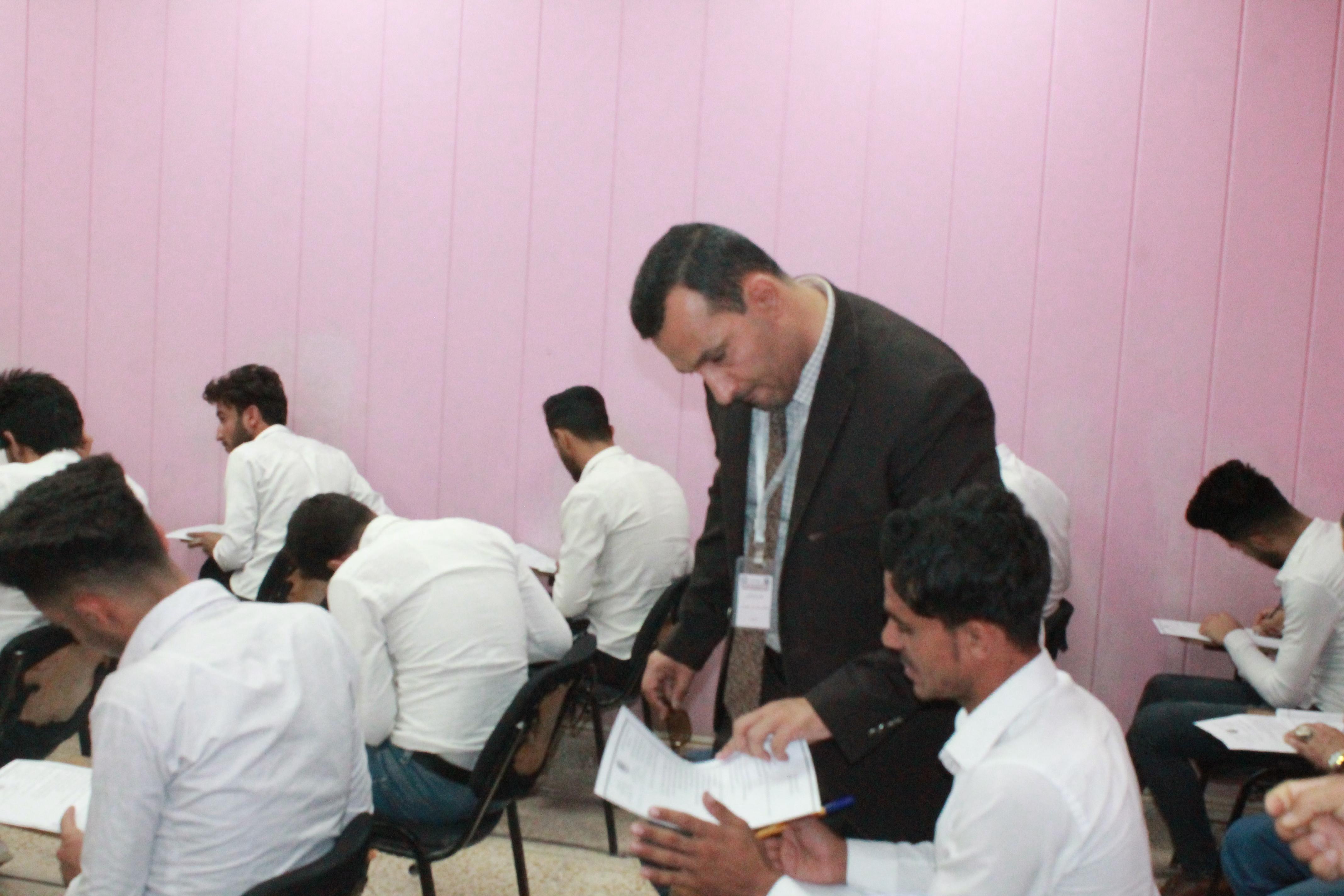 زيارة اللجنة الوزارية للامتحانات النهائية للعام 2018-2019