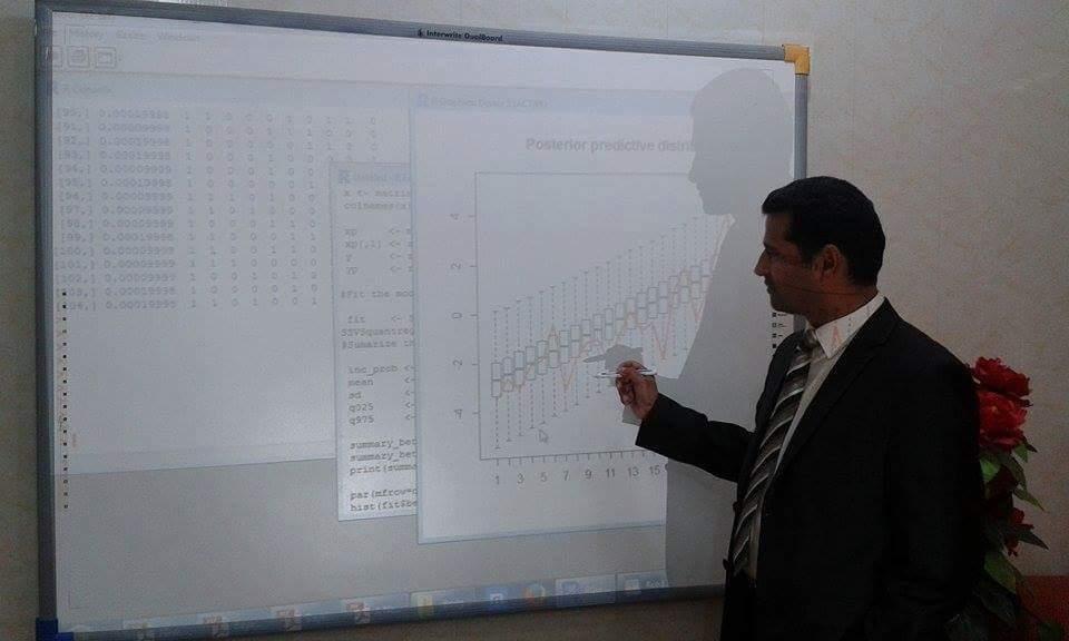 تدريسي في جامعة القادسية ينشر بحثا علميا بعنوان
