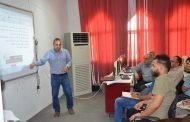 جامعة القادسية تنظم ورشة عمل لتوضيح الية نقل واستضافة الطلبة عن طريق ملئ الاستمارة الكترونيا