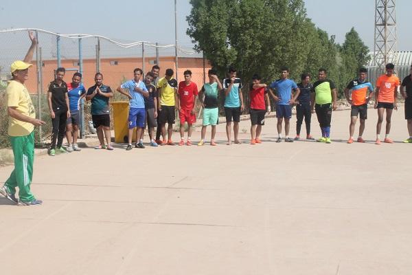 اختبارات المتقدمين للدراسة الاولية في كلية التربية البدنية وعلوم الرياضة
