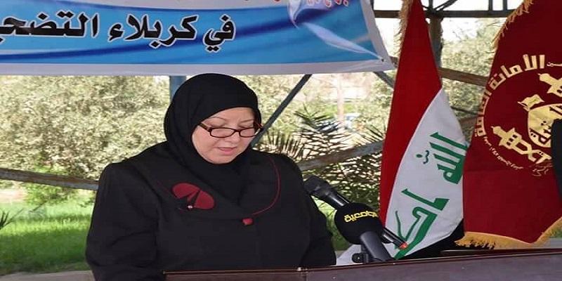جامعة القادسية وبالتعاون مع الامانة العامة للعتبة الحسينية المقدسة ترفع راية الامام الحسين (عليه السلام)