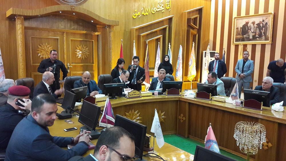 السفير الياباني لدى العراق يزور جامعة القادسية ويشيد بالتطور الحاصل فيها