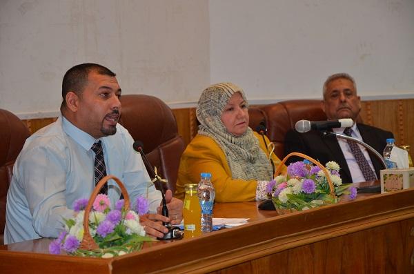 رئيس جامعة القادسية تلتقي بأساتذة كلية التربية للارتقاء بالمستوى التعليمي فيها