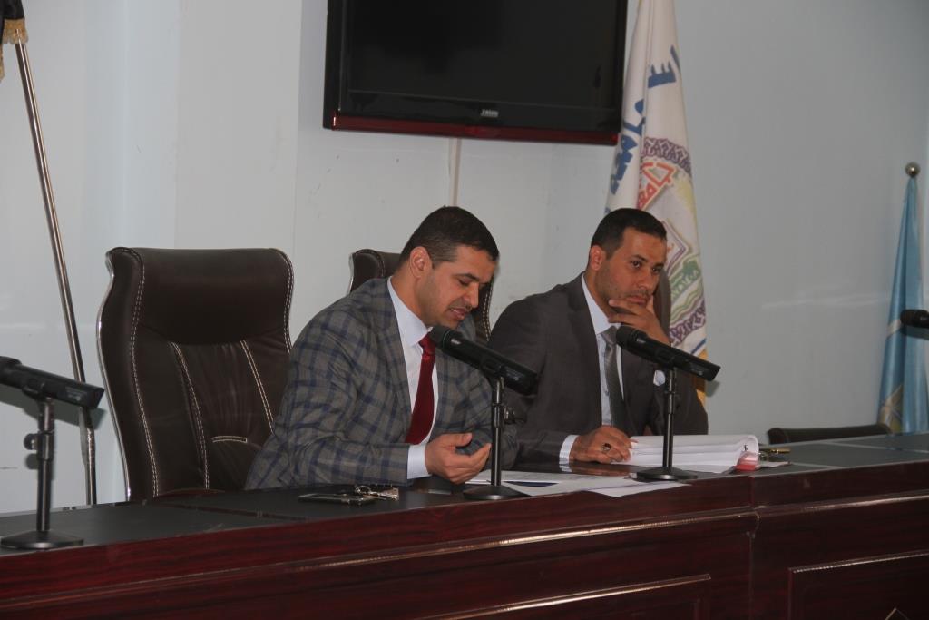 كلية القانون بجامعة القادسية تعقد المؤتمر التقويمي المقارن للأعوام (2015/2016) (2016/2017)