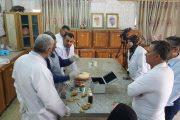 كلية الطب البيطري بجامعة القادسية تقيم ورشة عملية حول استخدام تقنية البلستكة