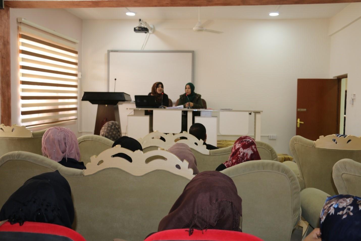كلية التربية للبنات في جامعة القادسية تقيم حلقة نقاشية عن أساليب التوجيه والإرشاد النفسي