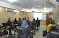 كلية الهندسة بجامعة القادسية تقيم ورشة علمية حول استخدام لغة Java script في Desktop app