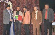 شبكة سومر للثقافة والاعلام  تكرم  عميد كلية الفنون الجميلة في جامعة القادسية