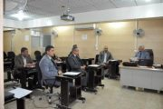 كلية الهندسة بجامعة القادسية تنظم ورشة عمل حول معايير وضع الاسئلة الامتحانية