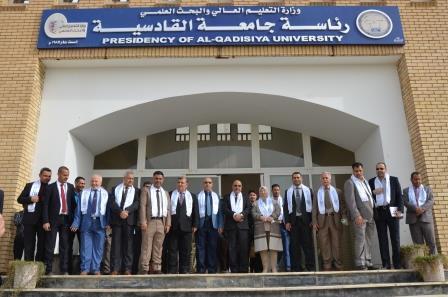 جامعة القادسية تحتفل بالذكرى السنوية الحادية والثلاثين لتأسيسها