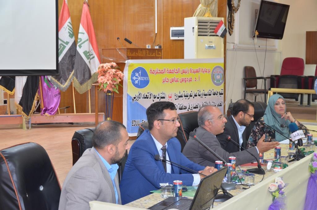 جامعة القادسية تعقد ورشة علمية حول تعزيز الاهتمام بالتراث الثقافي المشترك وهوية المجتمع العراقي