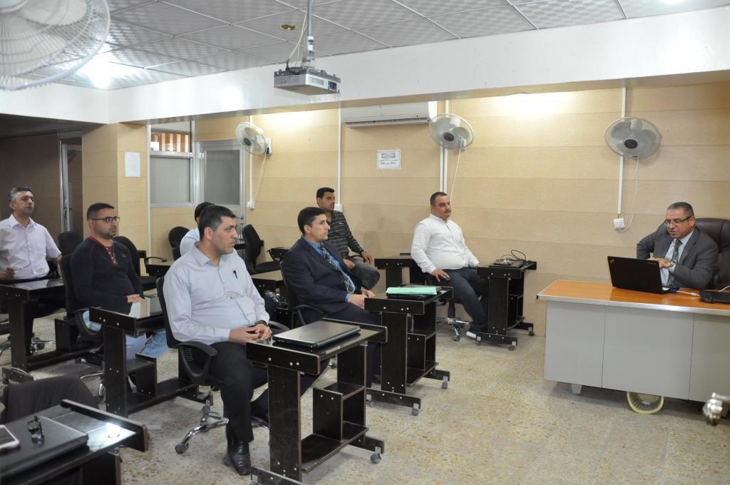 كلية الهندسة بجامعة القادسية تقيم ورشة علمية حول الأقمار الصناعية