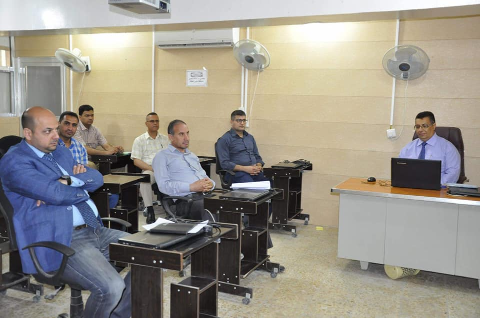 كلية الهندسة في جامعة القادسية تعقد ورشه علمية حول الطرق الكهروكيميائية المستخدمة في معالجة المخلفات الصناعية السائلة
