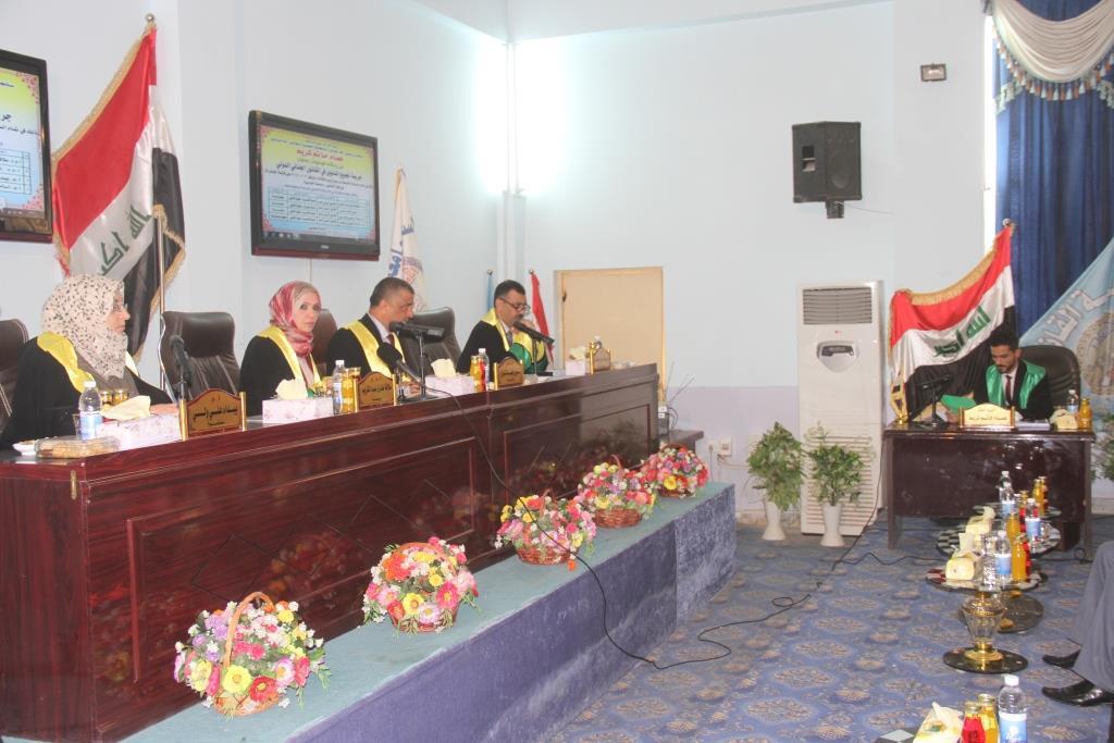 رسالة ماجستير في كلية القانون بجامعة القادسية ناقشت جريمة تجويع المدنيين في القانون الجنائي الدولي