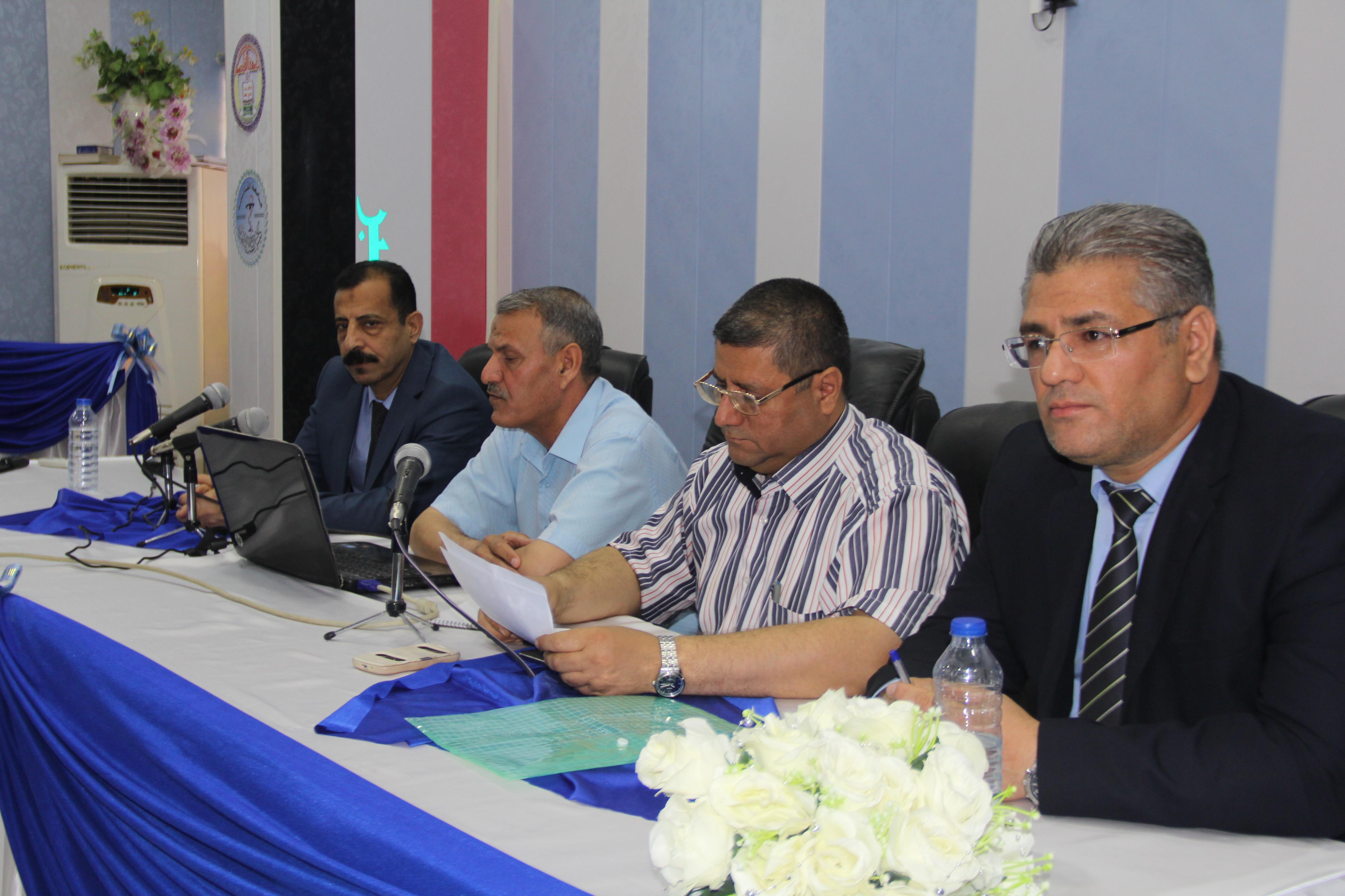 كلية الطب البيطري في جامعة القادسية تقيم ورشة عمل حول إنشاء وإدارة مشاريع حقول الدواجن