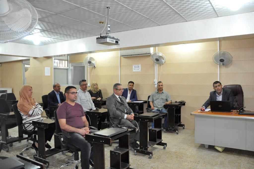 كلية الهندسة بجامعة القادسية تقيم ورشة علمية عن كيفية نشر بحث علمي متميز