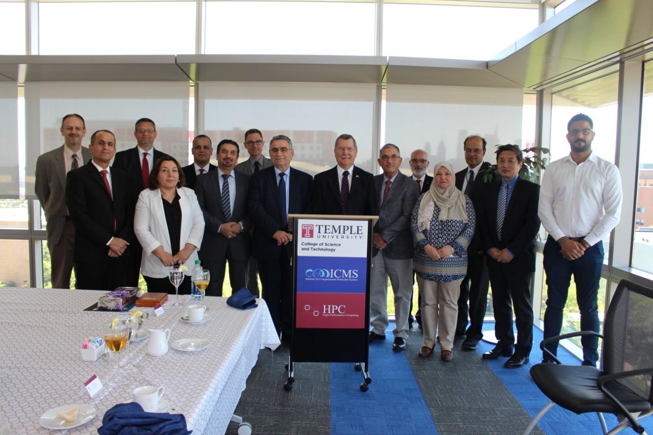مشاركة السيدة رئيس جامعة القادسية في مؤتمر NAFSA المقام في الولايات المتحدة الامريكية