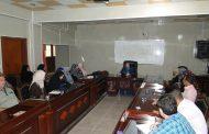 مركز التعليم المستمر في جامعة القادسية ينظم حلقة نقاشية حول الادارة والمرأة