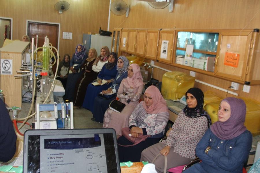 كلية الطب البيطري في جامعة القادسية تقيم دورة تدريبية عن انواع اختبار سلسلة البلمرة Types of PCR