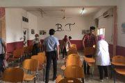 كلية التقانات الاحيائية بجامعة القادسية تنظم حملة لإعادة وتأهيل القاعات الدراسية والمختبرات العلمية