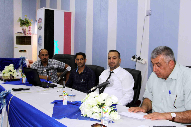 كلية الطب البيطري في  جامعة القادسية تقيم ندوة حول مرض الحمى النزفية في العراق