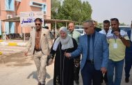 رئيس جامعة القادسية يزور كلية الأثار للاطلاع على واقعها التعليمي