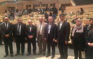 رئيسة الجامعة تشارك مع وفد وزاري بفعاليات الملتقى الاوربي الشرق اوسطي في ايران