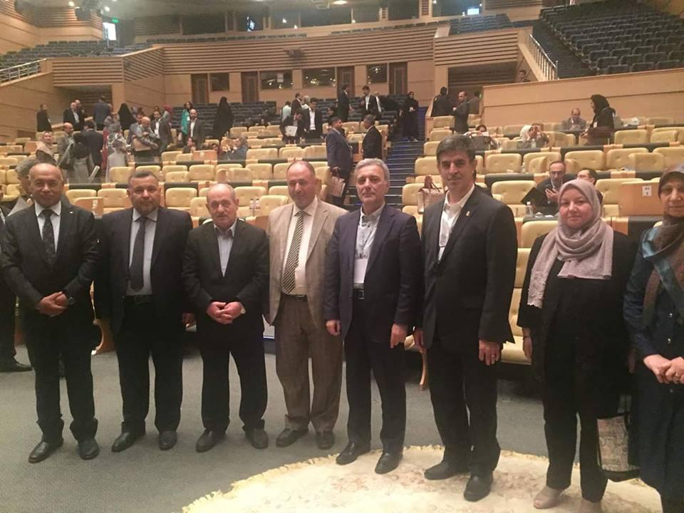 رئيس جامعة القادسية تشارك مع وفد وزاري بفعاليات الملتقى الاوربي الشرق اوسطي في ايران