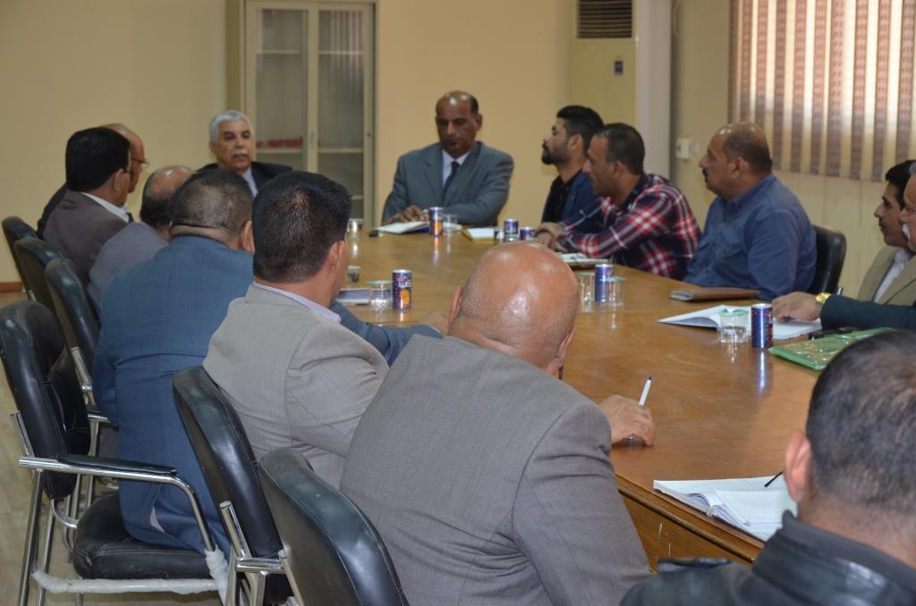 قسم المتابعة الجامعية في جامعة القادسية يعقد اجتماعه الدوري
