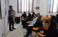 كلية التمريض في جامعة القادسية تنظم دورة تدريبية حول الحمل التدريبي