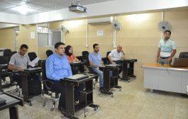 كلية الهندسة في جامعة القادسية تنظم دورة حول برنامج الغيابات المركزي