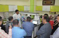 كلية الطب في جامعة القادسية تقيم ورشة عمل حول (فصل وتحليل البروتينات بطريقة الترحيل الكهربائي)