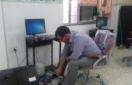 كلية الاثار بالتعاون مع مركز الحاسبة الإلكترونية تقوم بحملة لصيانة الأجهزة المختبرية