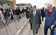 كلية طب الاسنان في جامعة القادسية تقيم مخيم ثقافي بمناسبة أسبوع النصر