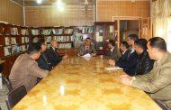 كلية الطب البيطري في جامعة القادسية تقيم دورة علمية حول سلامة اللغة العربية