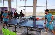 قسم النشاطات الطلابية يقيم بطولة تنس الطاولة لطلبة كليات جامعة القادسية