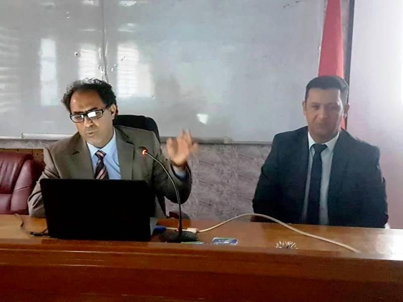 كلية الأثار في جامعة القادسية تقيم حلقة نقاشية حول نتائج التنقيب والصيانة في قلعة ذرب