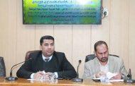 كلية التربية البدنية وعلوم الرياضة في جامعة القادسية تعقد مؤتمرها التقويمي